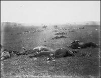 Brady federal dead battle gettysburg